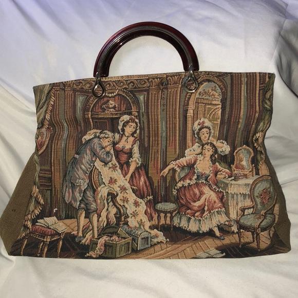 Vintage Handbags - Vintage Delile Purse